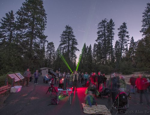 Astronomy Night at the Scenic Overlook